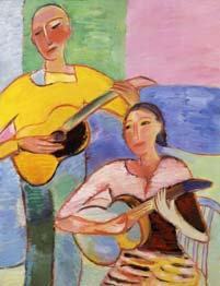 Две гитары. 1997. 116х89 |х.м.|