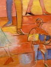Маленький музыкант. 2005. 115х85 |х.м.|