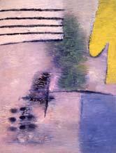 Желтый силуэт. 1992-93. 195x150 |х. м.|