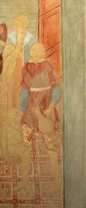 Пир Ирода. Копия фрески. Ярославская школа. 1975. 217х89. |х.м.|