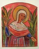 """Эскиз мозаики для фасада церкви """"Богородицы всех скорбящих радости"""""""