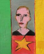 Звезда в окне. 2008. 60х45 |х.м.|